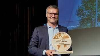 Thomas Kähler, EY award 2021. ROCKWOOL receives EY sustainability award for long term value creation 15 September 2021  The award recognises ROCKWOOL for contributing to reducing the building sector's climate impact and for acting decisively to accelerate the green transition.