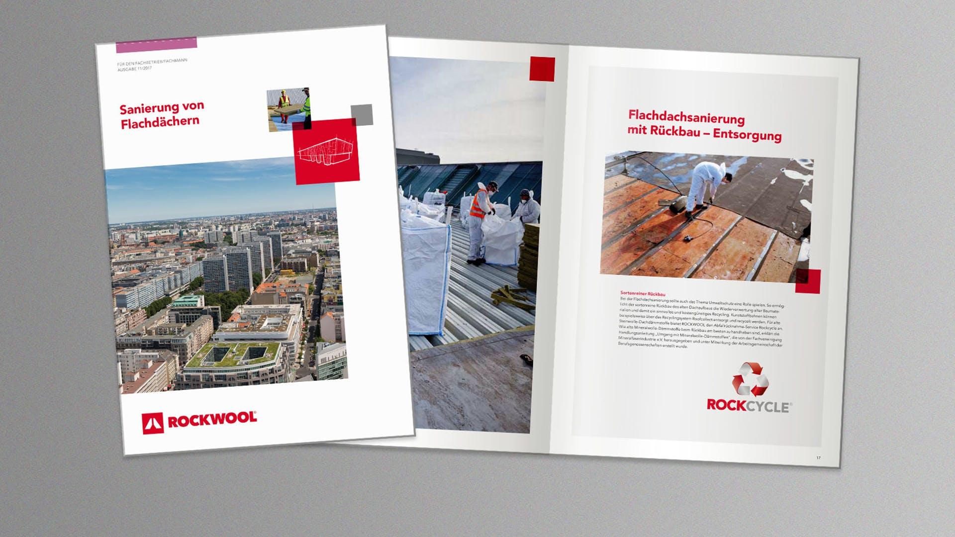 thumb, thumbnail, brochure, broschüre sanierung von flachdächern, germany