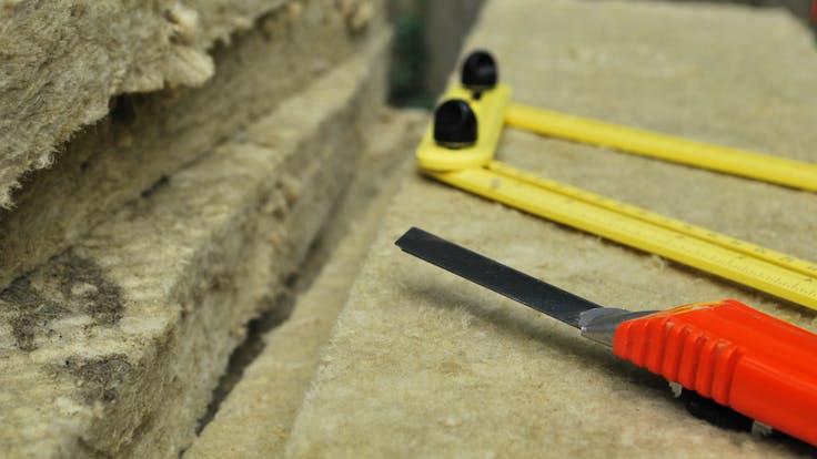 rockwool,  insultation material, old house renovation