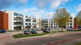 Apartment complex ''t Bakenshof' in Horst, The Netherlands