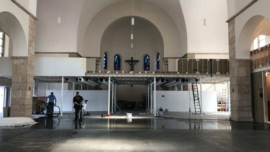 De Kerk, church, architect, office, acoustic, inner walls, floor