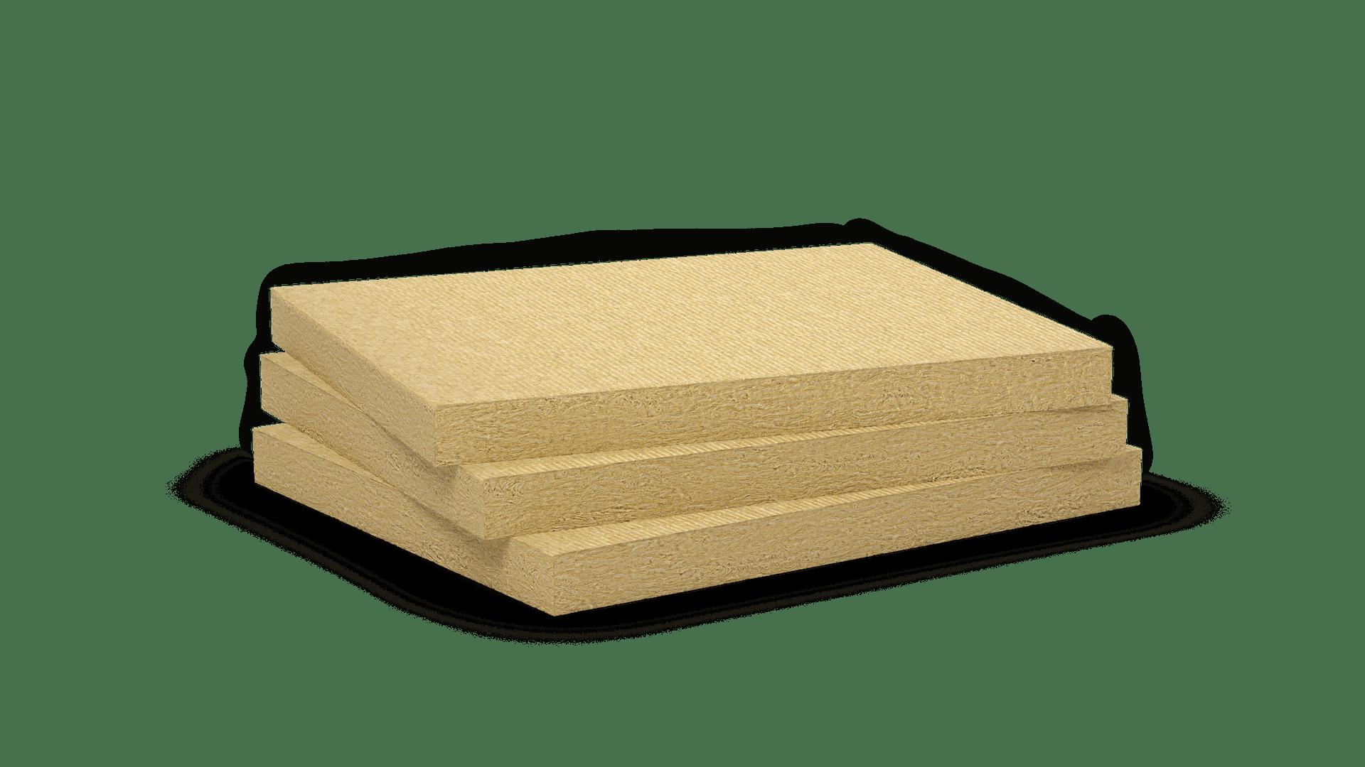 Mono density, high density stone wool slab.