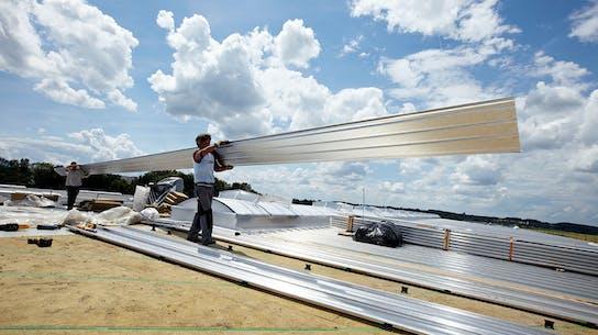 product, flatroof, flat roof, prodach dämmsystem, prorock, prodach, installation, installer, flachdach, germany