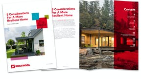 5 considerations for a resilient home, guide, RW design