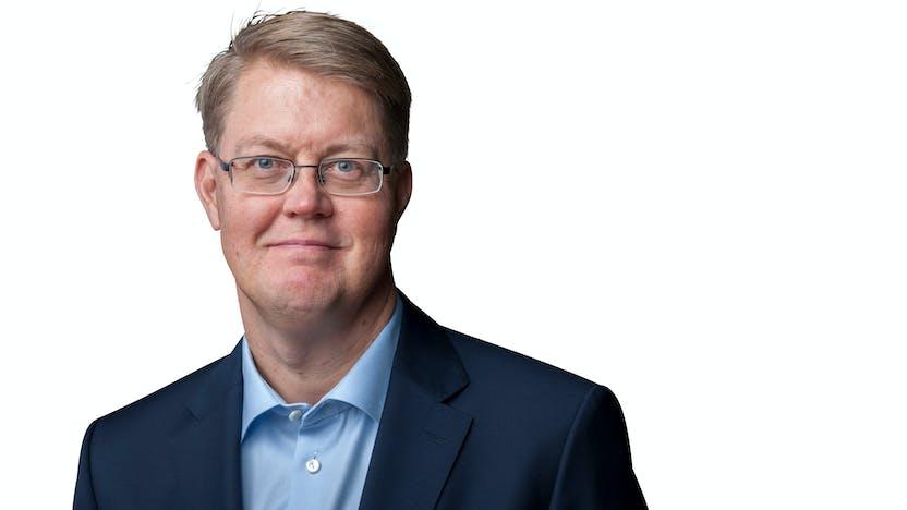 Jens Birgersson, Group Management,CEO, white background