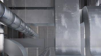 ROCKWOOL Klimaboard, productfoto, HVAC, thermische isolatie