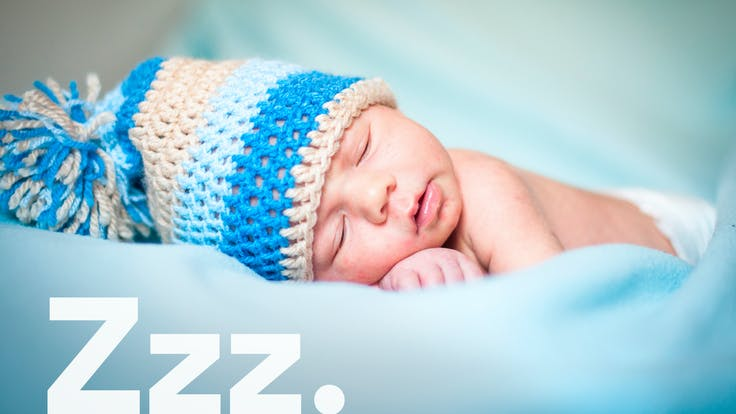 Brand Campaign, Brand Refresh, Onomatopee, Sound Words, Zzz, Baby, Person, Kid, Model, Sleeping
