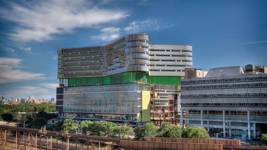 Rush Hospital Case Study 4, hospital, building, exterior, construction, project