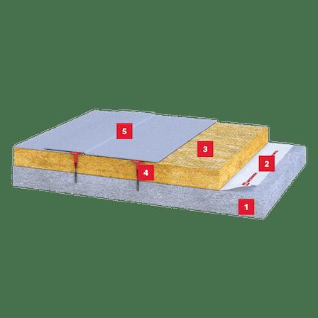 concrete deck, insulation