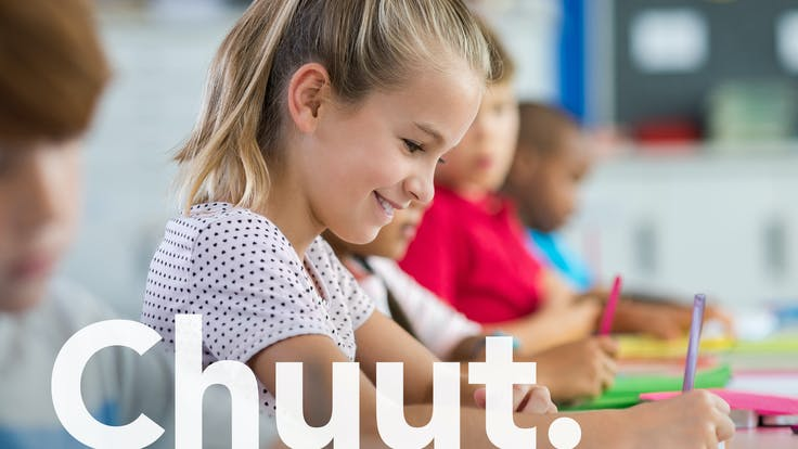 Brand Campaign, Brand Refresh, Onomatopee, Sound Words, Chuut, People, Person, Kid, Model, School