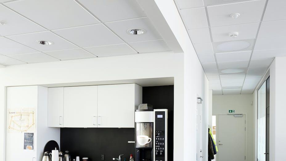 Port House in Fredericia Denmark with Rockfon Sonar E-edge