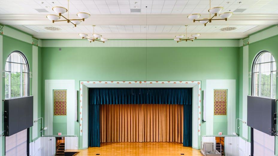 NA, HISD, Stephen F. Austin High School, Ero Architects, Sonar, Chicago Metallic 1200
