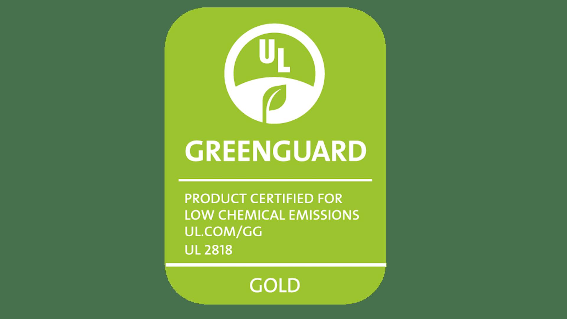NA, Greenguard, Gold, UL 2818, PNG