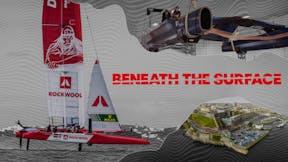 Beneath the surface style, BTS Key visuals, SailGP, Denmark SailGP Team