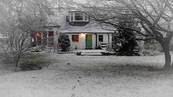 Cosy homestead in winter