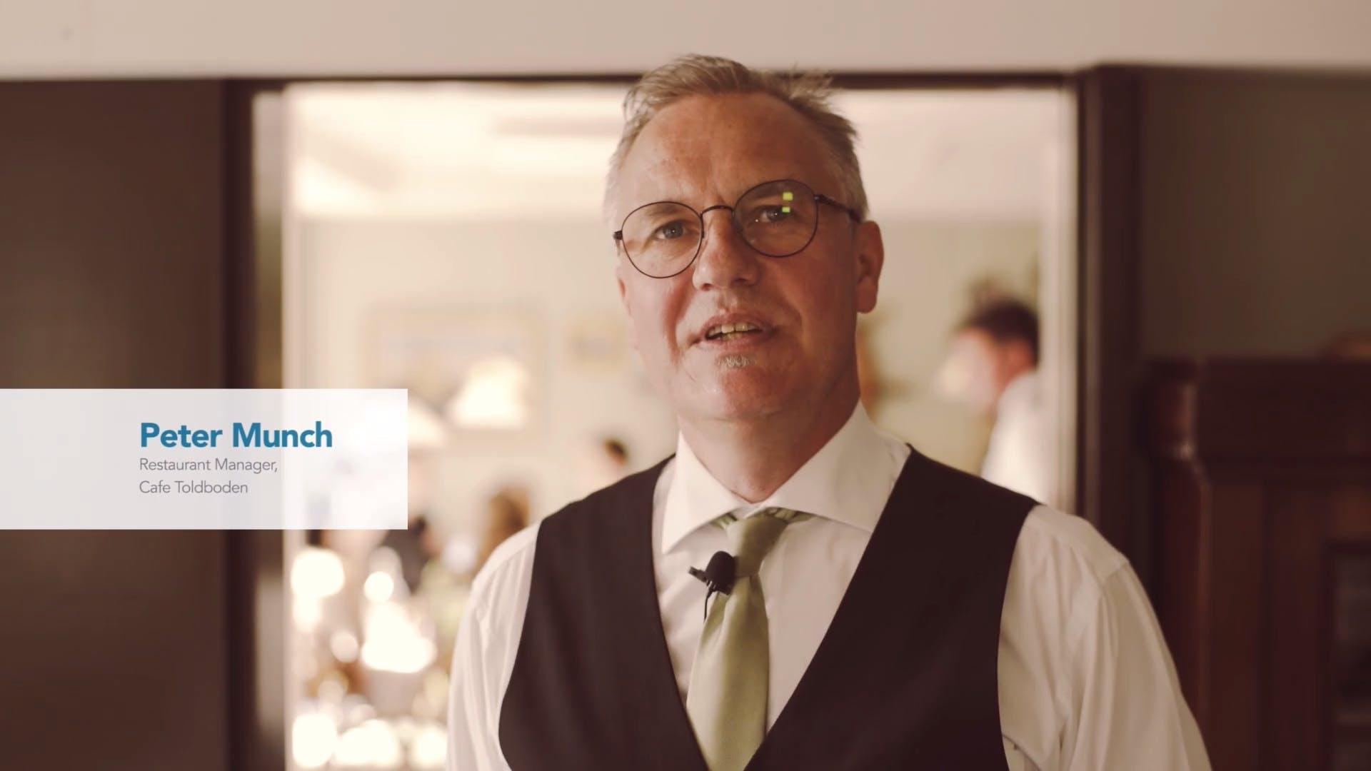 Peter Munch, Café Toldboden