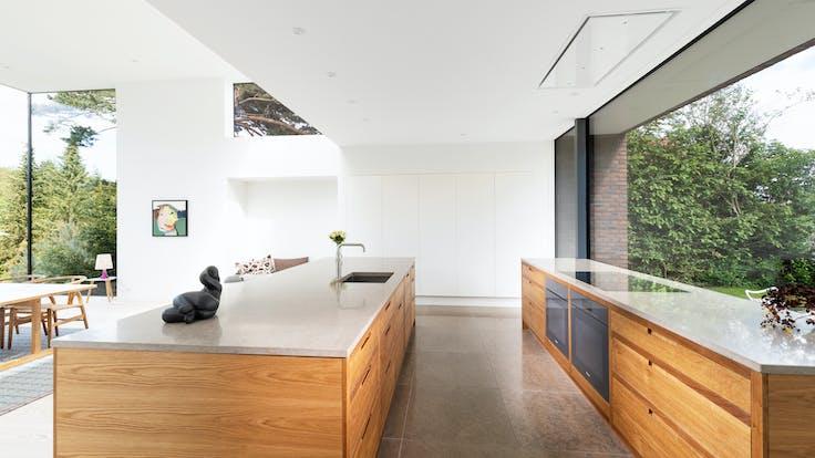 DK, Private Home, Gentofte, Jeppe Utzon, Private Home, Rockfon Mono Acoustic, White