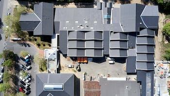 casestudy, case study, reference, roof, piched roof, referenz, bubiza, Bundesbildungszentrum des Zimmerer- und Ausbaugewerbes, Kassel, germany