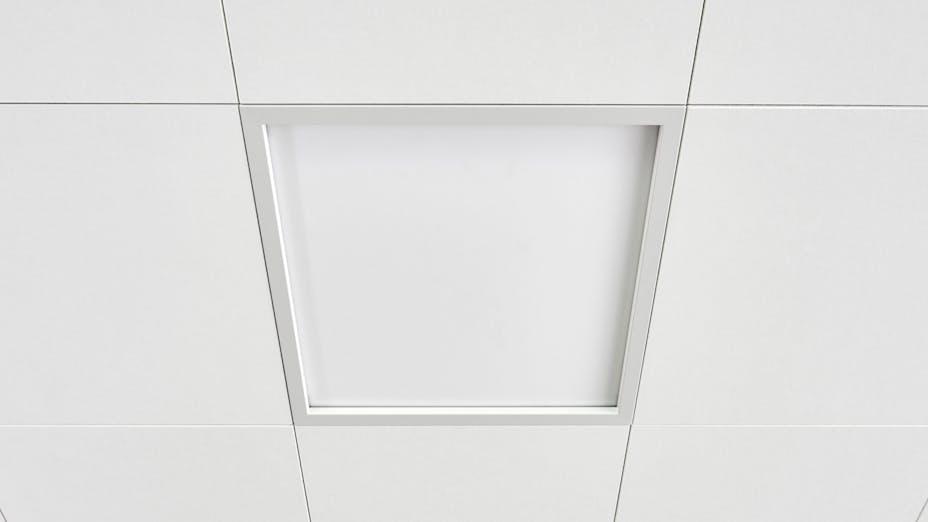 product illustration, light frame, Rockfon System T24 X, Rockfon, grid, suspension grid, component
