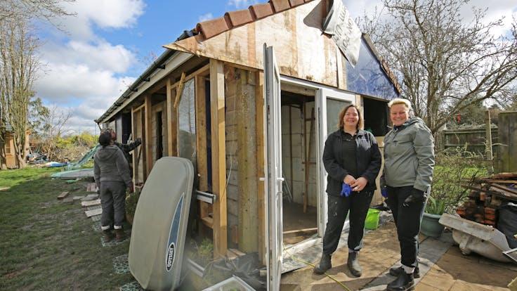 George Clarkes amazing spaces garage renovation, Rosebury Road, case study