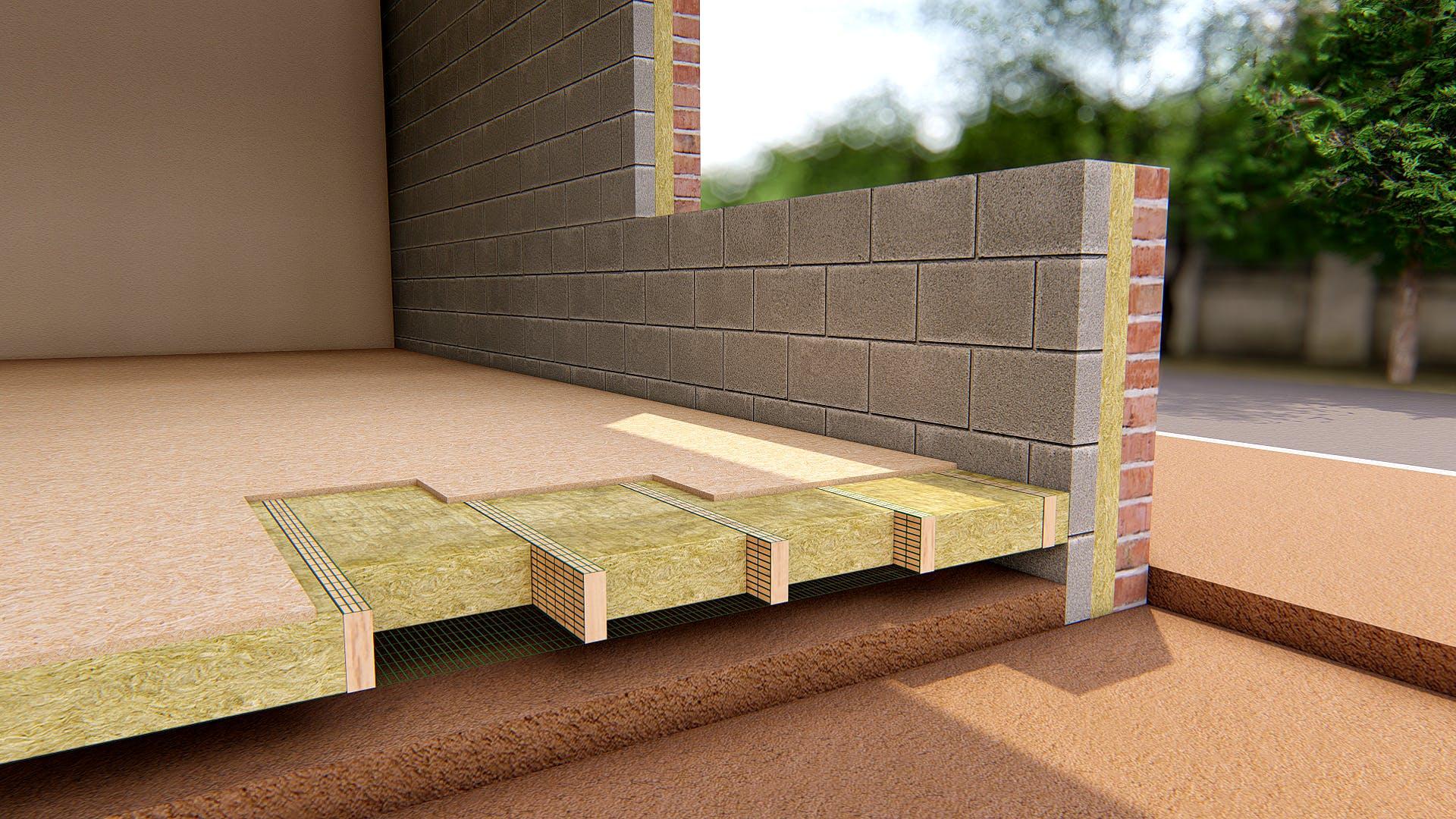 Ground Floor - Suspended Timber Floor - FLEXI