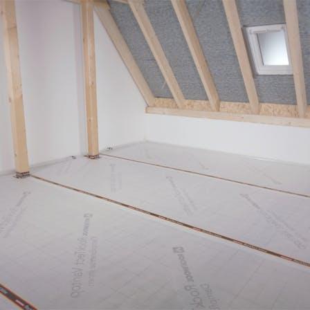 Dachbodendämmung, Verarbeitung, Anleitung, Video, luftdicht, attic insulation, loft insulation, steps, rocktect, varitop, thumbnail