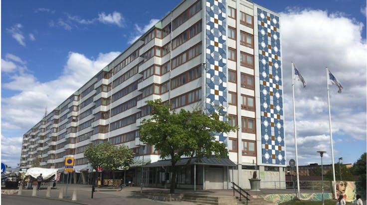 Renovation Friskväderstorget Göteborg Sweden