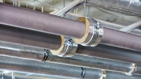 Product installation, TECLIT, Pipe sections, Hangers, Technical insulation