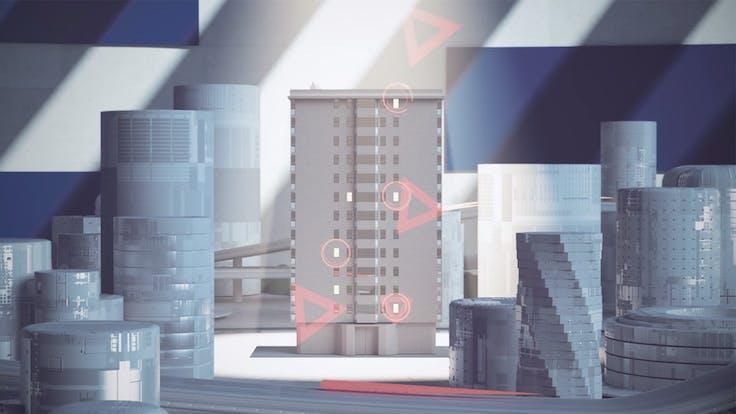 Illustration Rockpanel Fire Safety Video