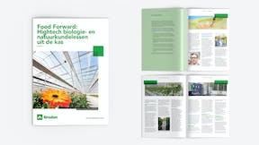 Food Forward, High-tech biology, greenhouse, whitepaper, illustration, NL