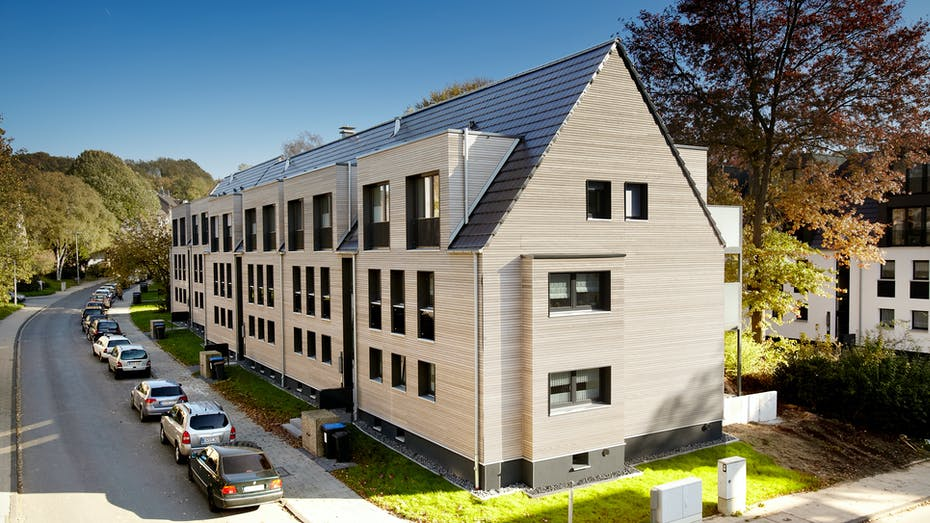 building, house, multi family house, multi family home, multi-family house, multi-family home, reference, etics, hattingen, germany