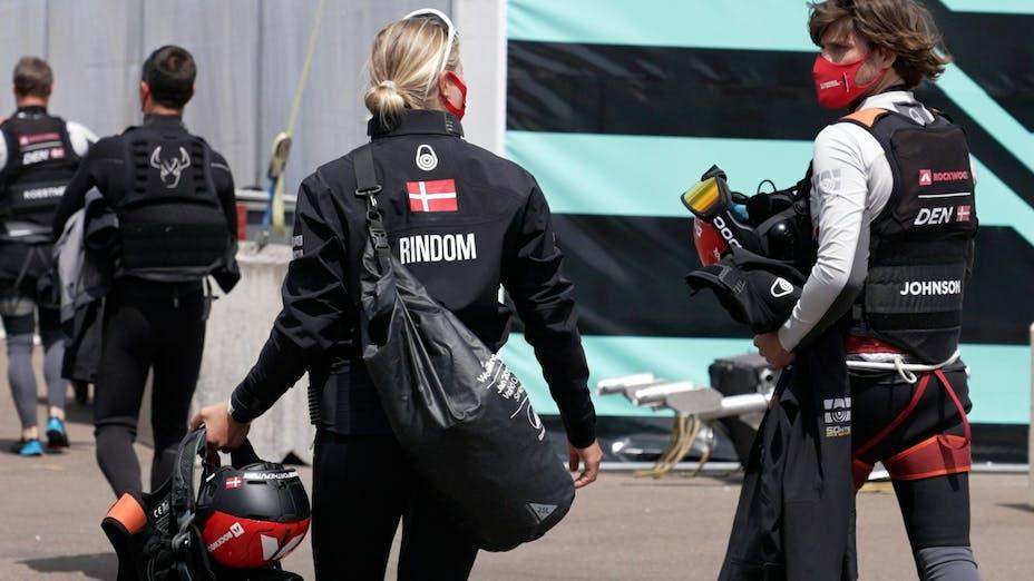 Anne-Marie Rindom, SailGP, Female Team ROCKWOOL, sailing, female team, Olympics 2020