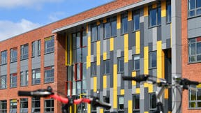 HERO image Derby Cathedral School Case study Rockpanel Colours