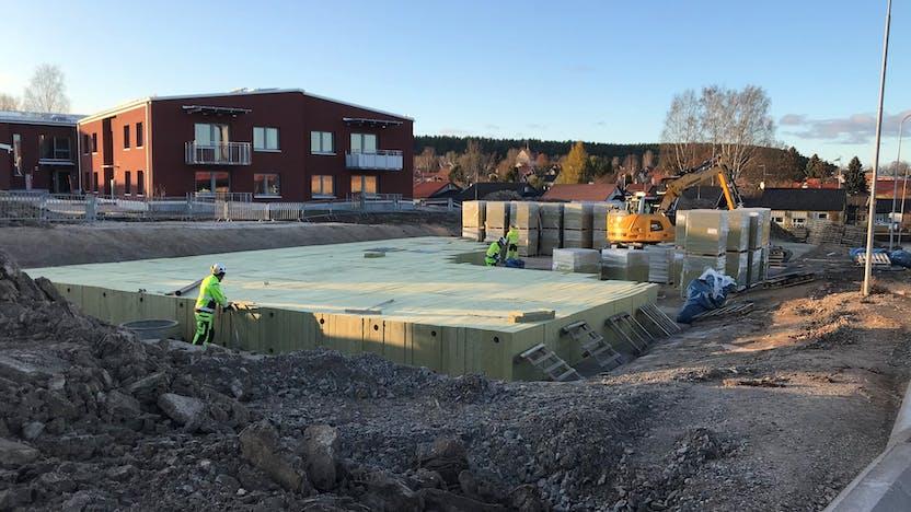 lapinus, rockflow, water management, case study, Hedemora, Zweden, Sweden