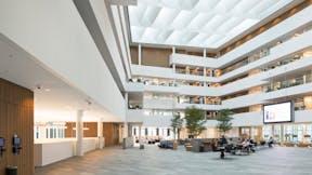 DK, Nordea, Henning Larsen Architects, School, University, Rockfon Mono Acoustic, white