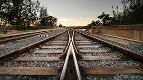 RockWorld imagery, products with life, train, railway,
