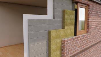 Full Fill Masonry Cavity - FULL FILL CAVITY SLAB ROCKCLOSE