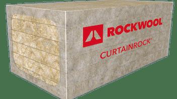 CURTAINROCK® lightweight, semi-rigid stone wool insulation board