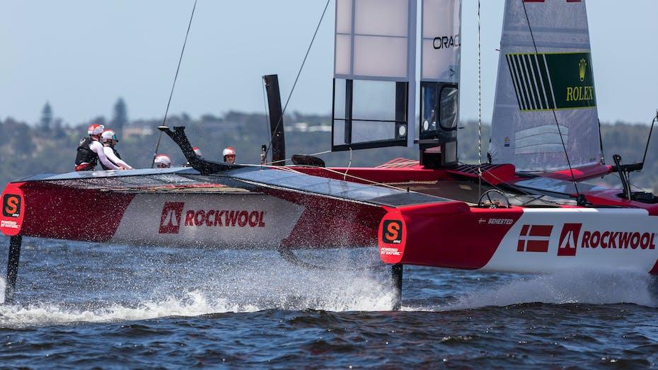 The Denmark SailGP team in Sydney