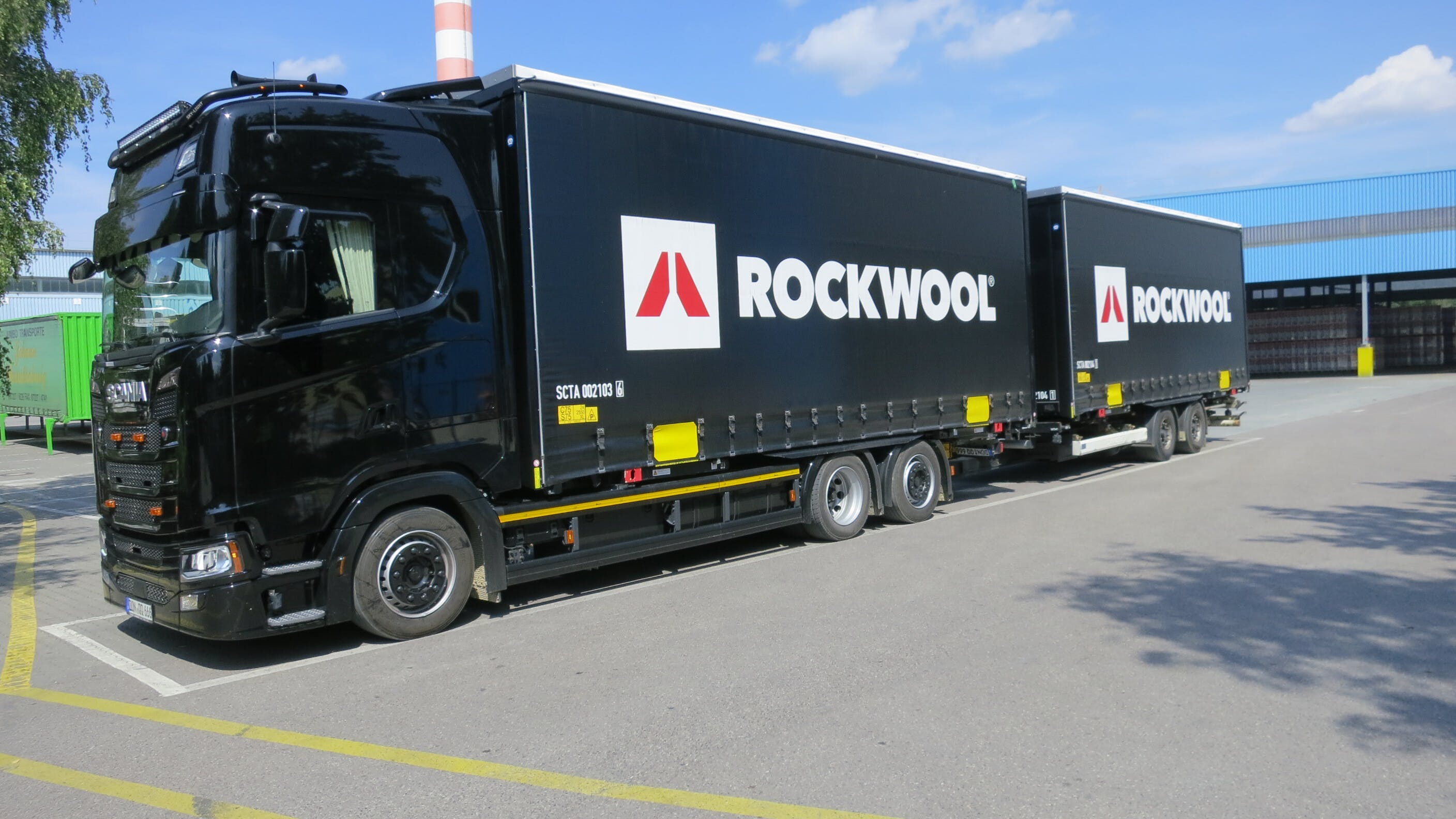 logistic, delivery, truck, germany