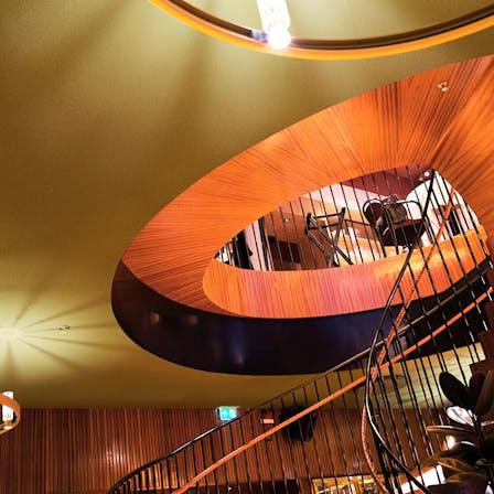 Restaurant/Brasserie Astoria in Stockholm Sweden with Rockfon Mono Acoustic