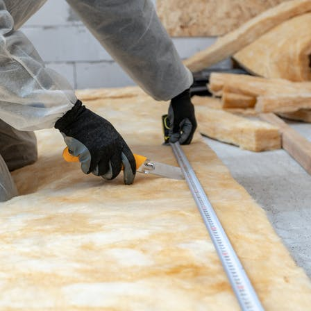 glass wool , insulation material, thermal insulation