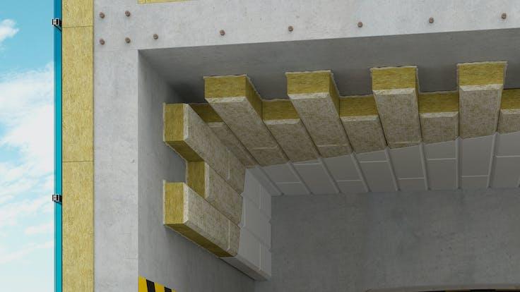 Garage ceillings insulation