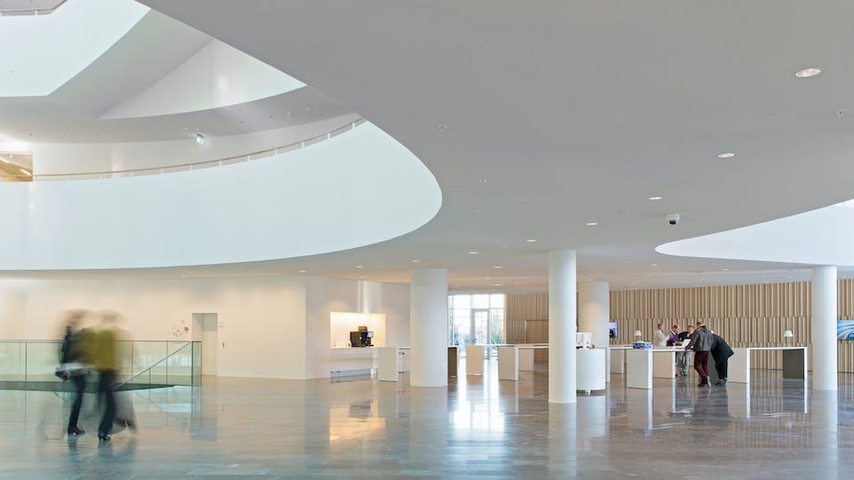 Featured products: Rockfon® Mono® Acoustic, TE Elegant Render, 1200 x 1200