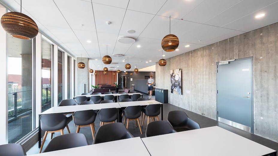 DK, Midtbyens Gymnasium, Viborg, Cubo arkitekter, Rambøll architect, Svend Christensen, Education, Exterior
