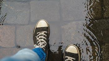 water management, shoe, water, lapinus