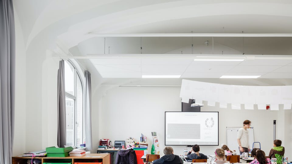 Acoustic ceiling solution: