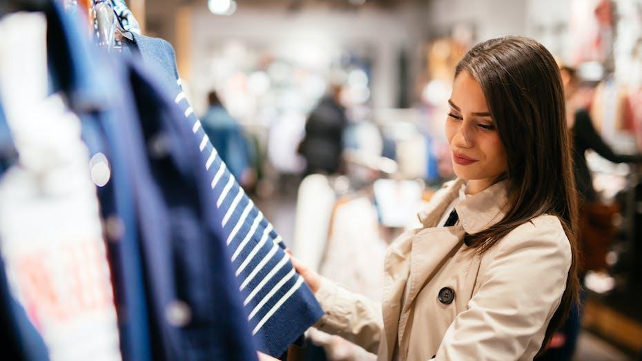 Illustrative image, retail, shopping, clothes, boutique, woman, store, shop, clothing