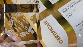 grodan, award winning, certificate, honor, gold, grodan