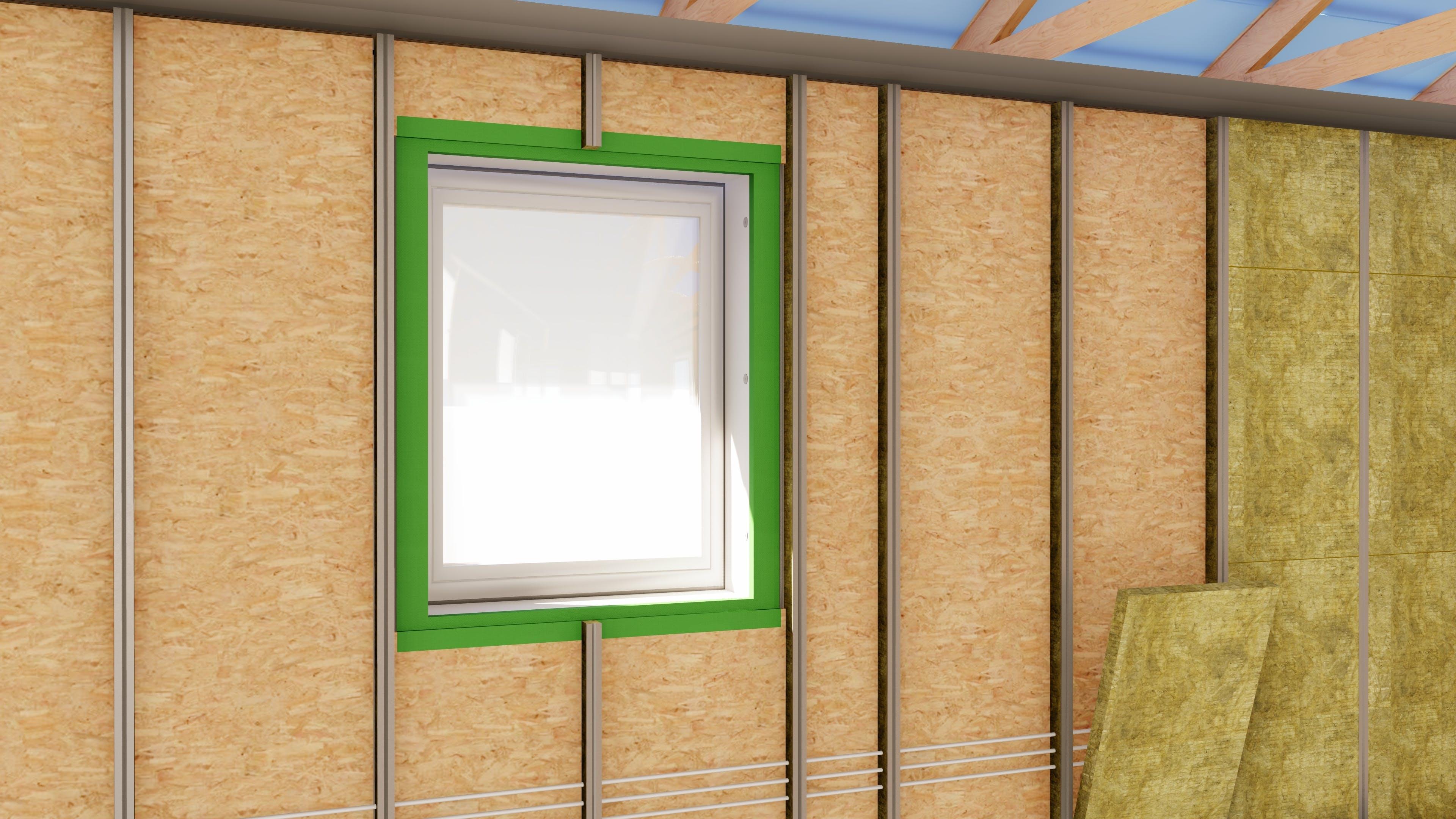 Rockzero, campaign, system, 3D, wall construction, internal insulation
